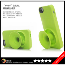 competitive factory supply popular silcone speaker cover for iphone 5 case