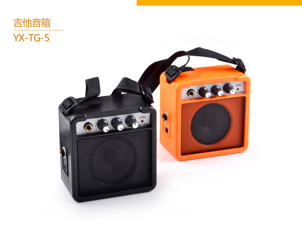 YX-TG-5 5watt mini travel guitar amplifier China factory