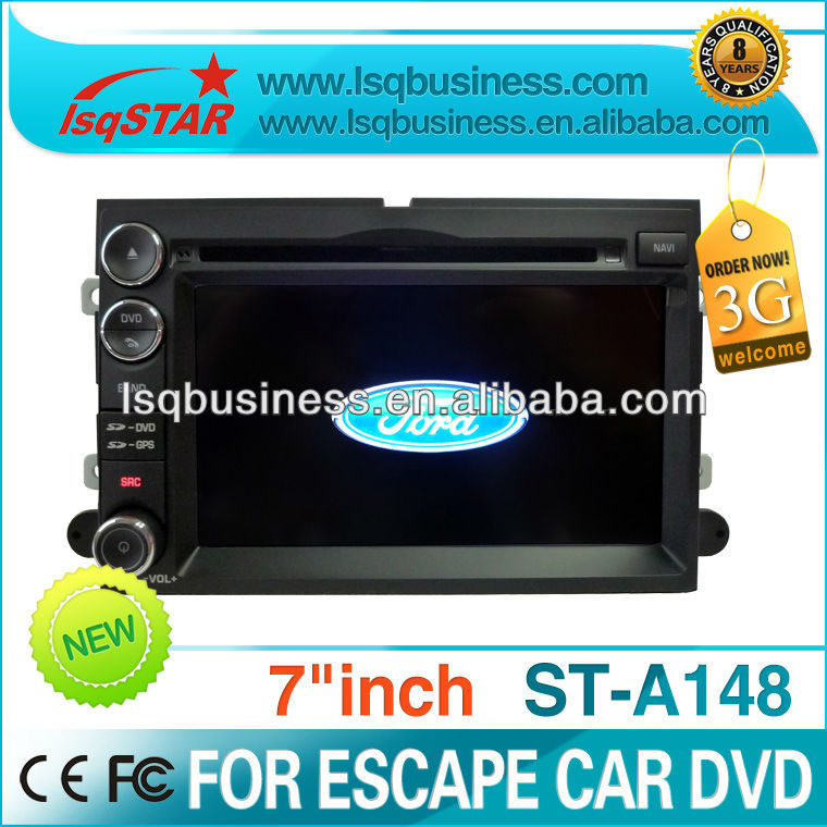 LSQSTAR 2 DIN 7 inch car radio for ford explorer with gps navi, hot selling
