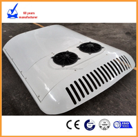 15KW 12v /24v Vehicle engine driven roof mounted mini bus air conditioner for sale