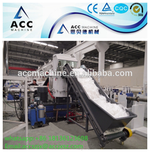Plastic recycling granulating line/PE PP pellet making machine/waste film bag recycling pelletizer machine