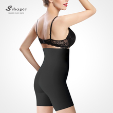 S-SHAPER Women High Waisted Shorty Seamless Shaping Panty Body Shaping Invisible Underwear