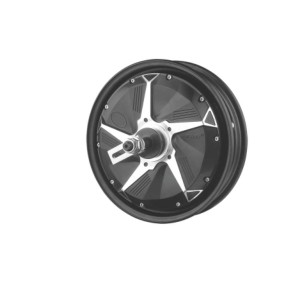 "Brushless 1500w electric wheel 10"" hub motor"
