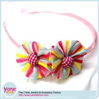 Cheap christmas hair accessories sets flower headbands wholesale