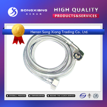 Made in China flange joint braided flexible rubber hose