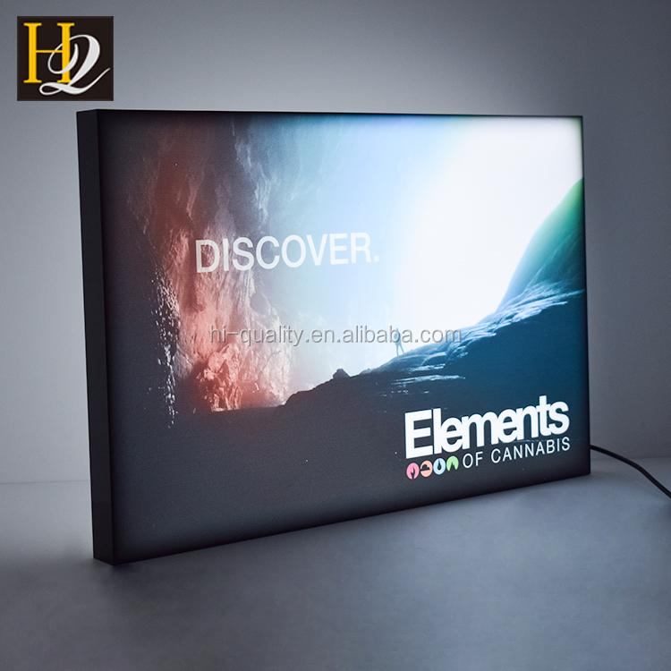 wall mounted  light box