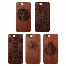 amazon hot sale wholesale cellphone accessories blank wood phone case for iphone 8 multi patten