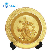 Gold Plated Decorative Custom Award Souvenir
