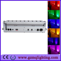 CHINA GUANGZHOU led stage lighting/9pcs wireless dmx moving head wall washer/battery powered stage lighting
