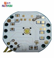led light circuit board round for good price pcb assembly manufacturer