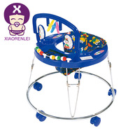 Cheap Simple Metal Assorted Color New Model Softtextile Baby Walker
