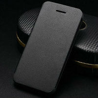 wallet pu leather card holder magnetic flip cover case for iphone 5