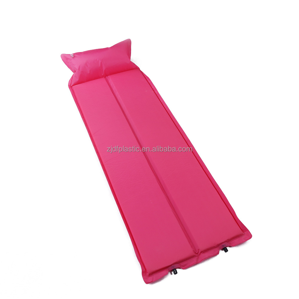 outdoor waterproof folding foam mattress camping mattress sleeping pad and light weight inflatable