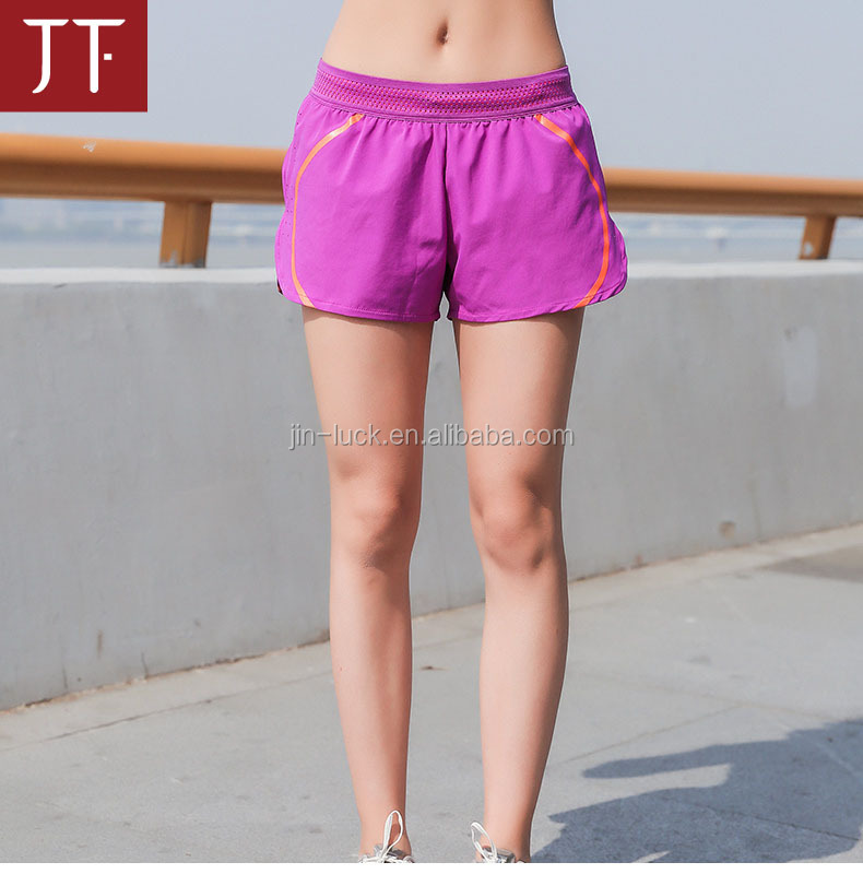 Fitness yoga Shorts High Waist Elastic Running Gym Yoga Quick Dry Breathable Short sports active wear shorts