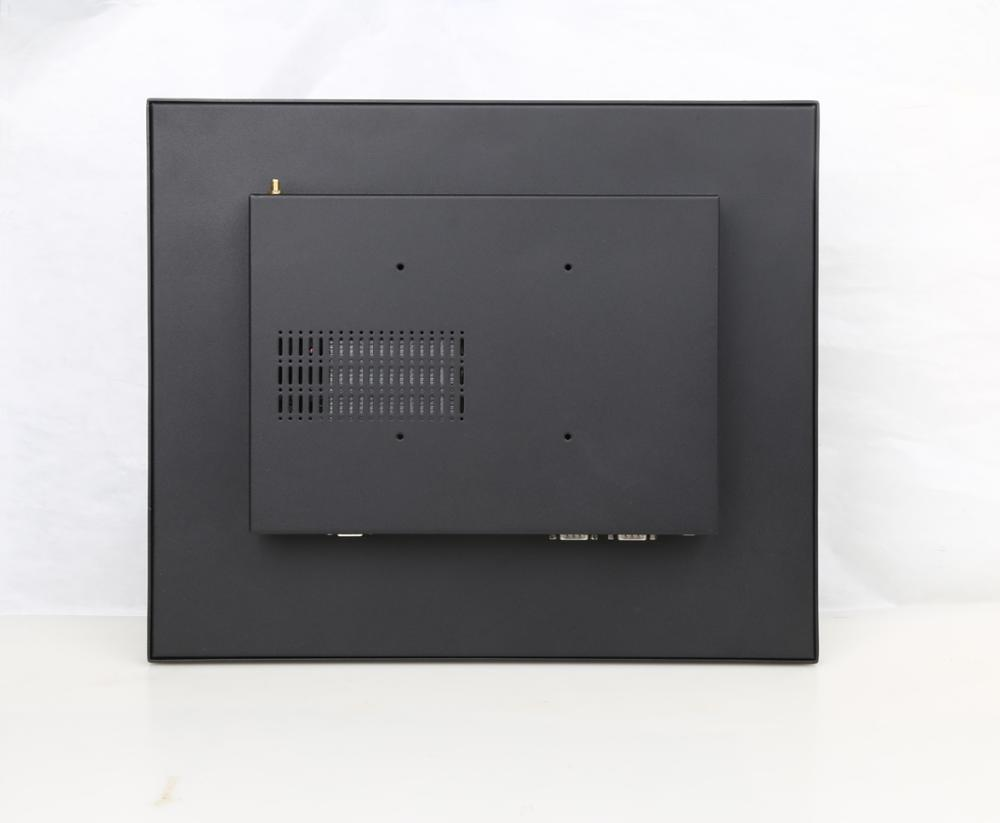 IP65 front panel full flat 17 inch project capacitive touch Panel pc RS232