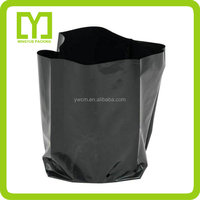 2016 cheap plant nursery bag customized promotional plastic tree grow bags