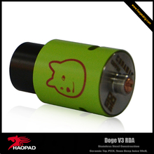 ego-g g-pen wax oil vaporizer Doge V3 RDA with low price