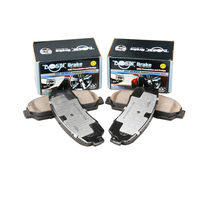 no noise D1521 china brake pad for HONDA