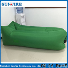 Hot selling lazy sofa inflatable beach lounger, inflatable outdoor lounger