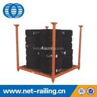 Detachable Used stackable warehouse storage metal tyre racking