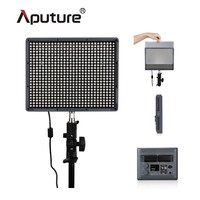 Aputure Portable Photography led photo light HR672W free bag and battery