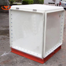Anti-seismic frp panelized water tank for residence