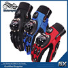 Motorbike Parts Red/Blue/Black Riding Gloves Breathable Fabric Glove For Motorcycle/Dirtbike/Off-road