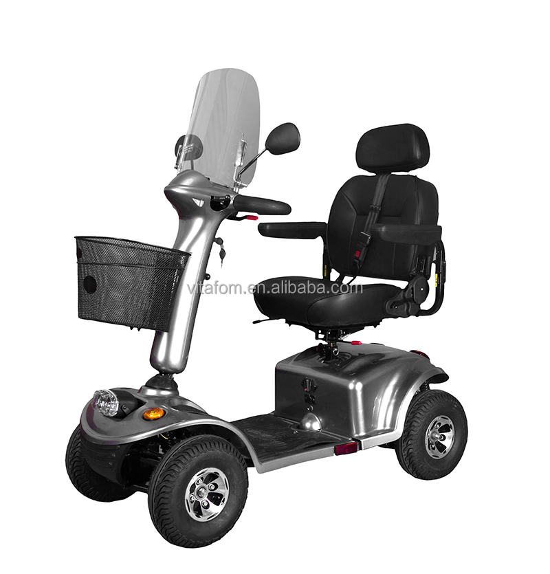 Vitafom 4 wheel Big Power Electric Scooter 950W Silver