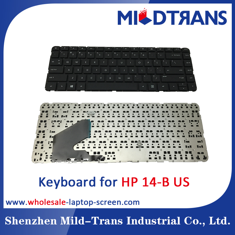 Laptop Keyboard replacement for HP 14-B 14B american layout Black