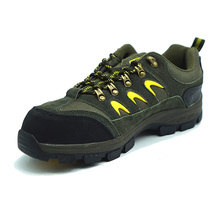 Suede Leather Sport Style Light Weight Safety Working Shoes