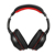 2017 Wholesale high quality silent disco led headphones Foldable Bluetooth Neckband Over Ear Headphones