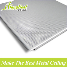 Aluminum types of acoustic ceiling board