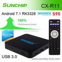 RK3328 1G 8G arabic iptv box android set top wholesale smart tv Android 7.1 TV Box
