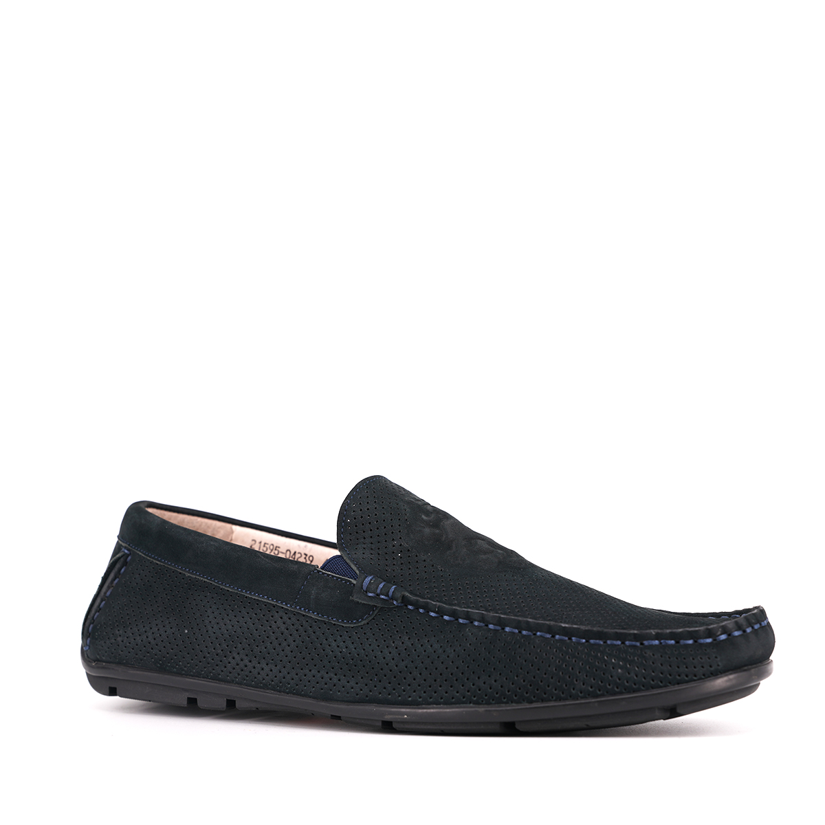 Nubuck real leather mocassin casual shoes for men