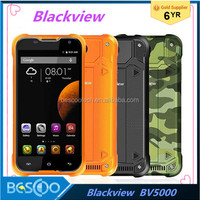 Original Blackview BV5000 4G LTE Mobile Phone 5.0 Inch MTK6735P Quad Core 2GB RAM 16GB ROM Android 5.1 Dual SIM Waterproof Phone