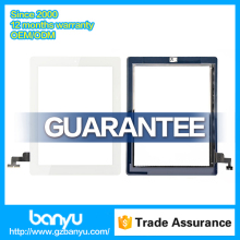 White color glass digitizer replacement for ipad mini 2 lcd screen