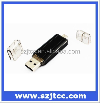 32GB Dual Port USB 3.0 Pen Drive High Quality and Stock Goods for Gift Promotional