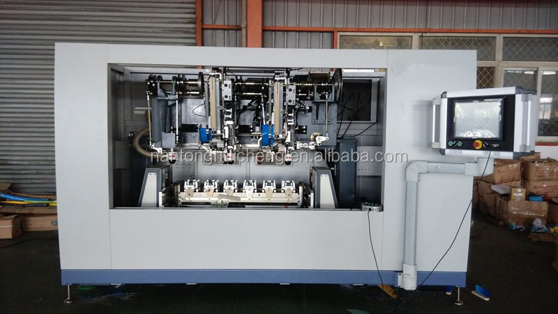 5 axis 5 heads cnc autoamtic broom brush making machine
