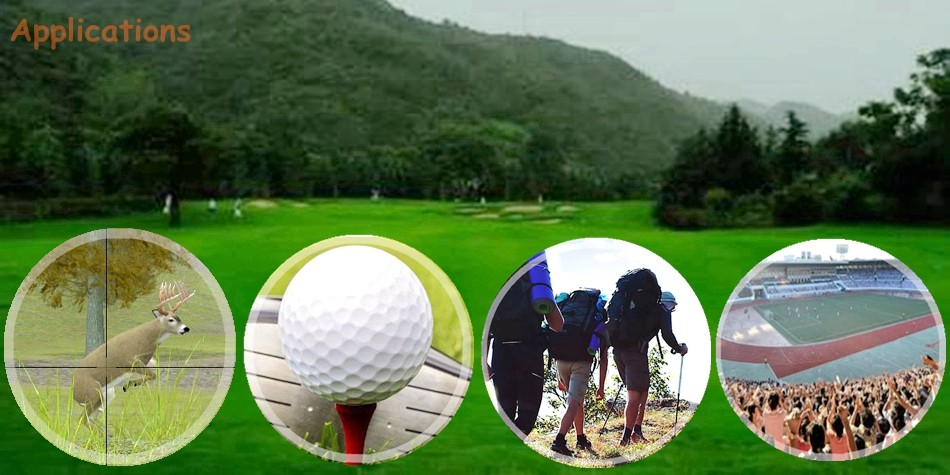 8*25 500m Golf GPS for playing Golf with Pinseeking