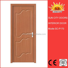 Heavy solid wood infiling pvc interior door profile