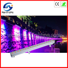 Pro LED linear 1000mm wash 18pcs 3W wall washer rgb led bar stage light
