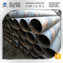 THICK ZINC COATING SPIRAL WOUND STEEL PIPE