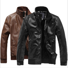 wholesale price men leather jackets bomber jacket for winter