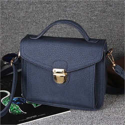 New Top Grade Fashion Colorful PU Leather Women Handbag