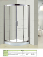 Hot modern design stainless steel sliding door shower room shower enclosure