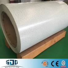 Shandong SDG Brand Decoration materials Prepainted Galvanized Steel sheets / Coil Wrinkle PPGI