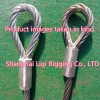 1mm-16mm wire steel rigging/wire steel swage rigging/for lifting/wire steel rope combination rigging
