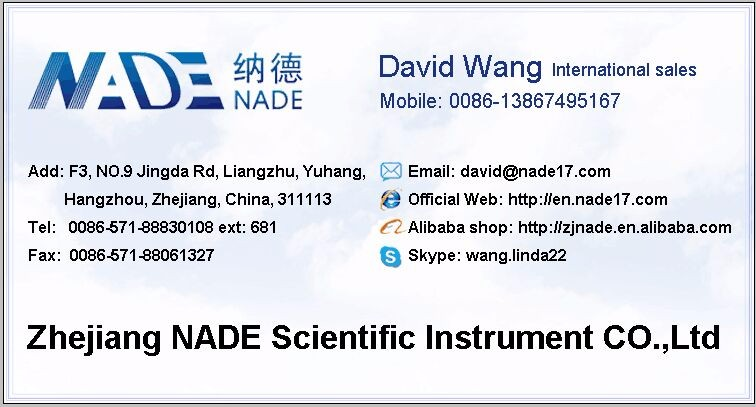 NADE Lab Water Testing Instrument Turbidimeter or turbidity meter WGZ-200A/2/2A/100