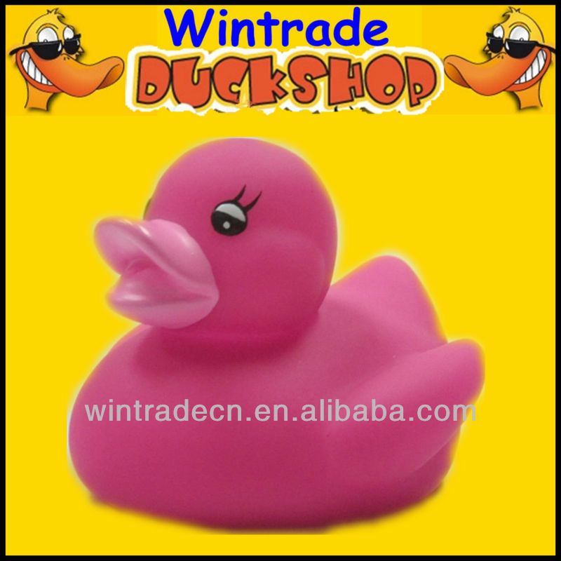 rosepink rubber duck toyt, Phthalate free rubber duck pink