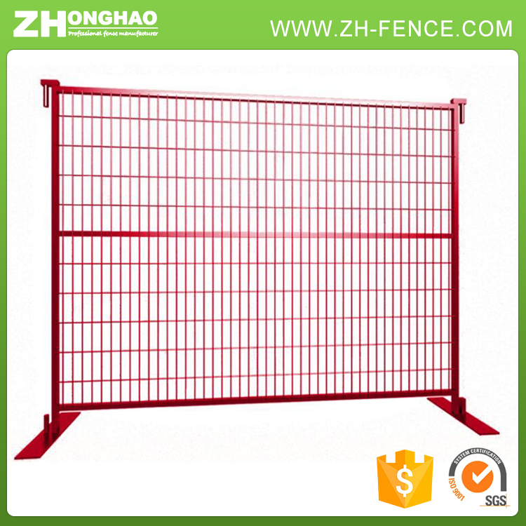 Longevity Security Anti-Rust Welded Mesh Temporary Fence